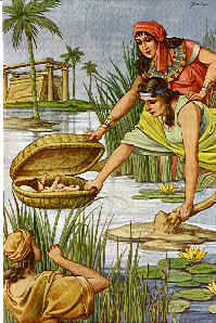 Moisès salvat del Nil