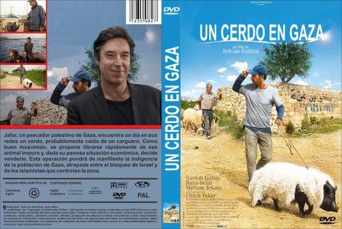 Un Cerdo En Gaza caratula dvd