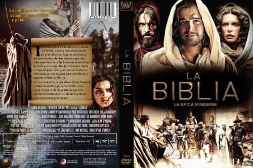 La Biblia serie caratula 1 dvd