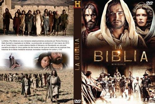 La Biblia serie caratula dvd