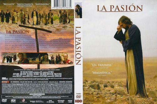 La Pasion caratula dvd