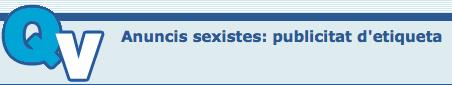 publicitat anuncis sexistes