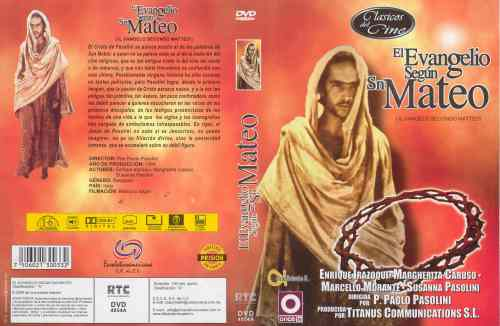 El Evangelio Segun San Mateo caratula dvd