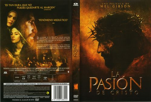 La Pasion De Cristo caratula dvd