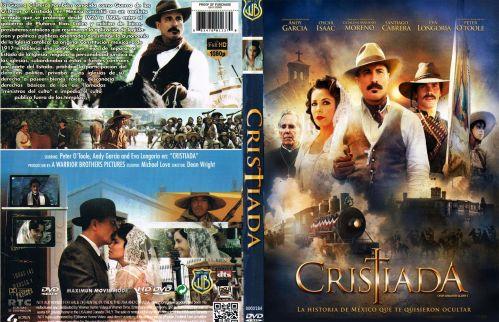 Cristiada Caratula - dvd