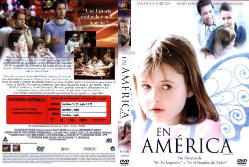 En America caratula - dvd