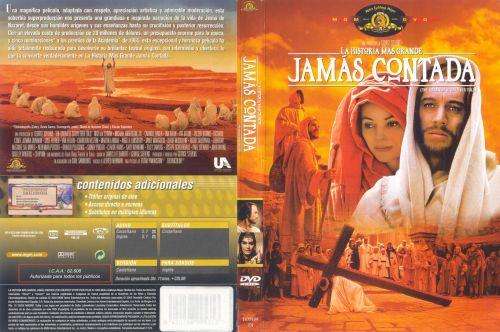 La Historia Mas Grande Jamas contada Caratula dvd