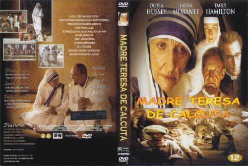 Madre Teresa De Calcuta caratula - dvd