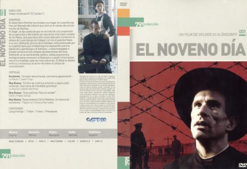 El Noveno Dia - dvd