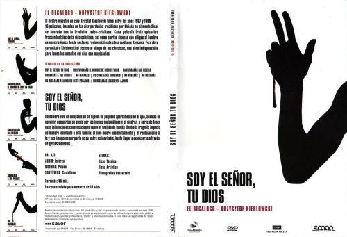 El Decalogo 1 Soy El Senor Tu Dios - dvd