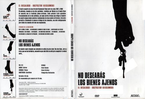 El Decalogo 10 No Desearas Los Bienes Ajenos - dvd