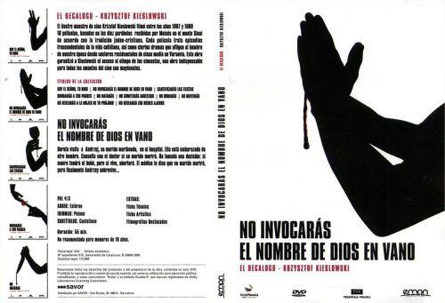 El Decalogo 2 No Invocaras El Nombre De Dios En Vano - dvd