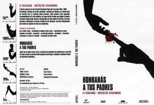 El Decalogo 4 Honraras A Tus Padres - dvd
