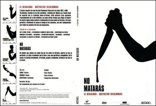 El Decalogo 5 No Mataras - dvd