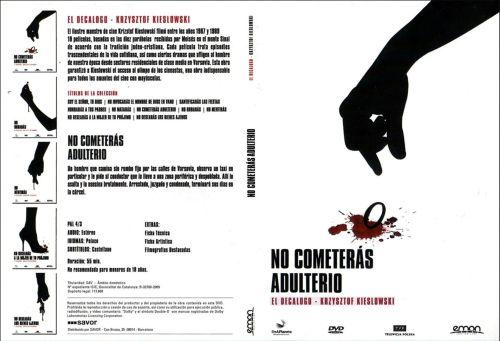El Decalogo 6 No Cometeras Adulterio - dvd