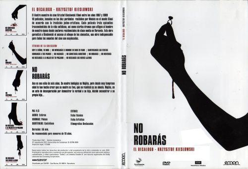 El Decalogo 7 No Robaras - dvd