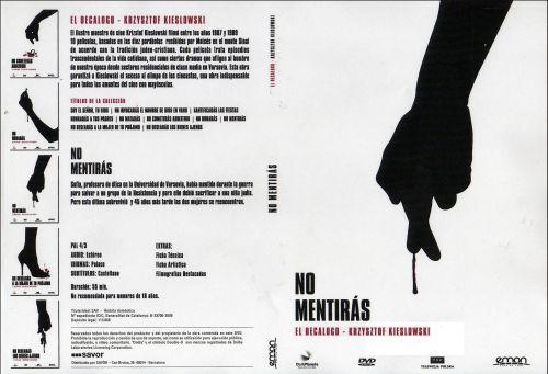 El Decalogo 8 No Mentiras - dvd