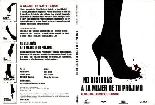El Decalogo 9 No Desearas A La Mujer De Tu Projimo - dvd