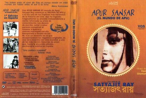 Trilogia de Apu Apur_Sansar_(El_Mundo_De_Apu)-Caratula