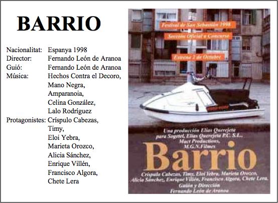 quadre cine barrio