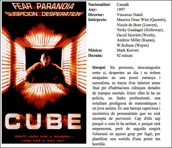 quadre cinema cube