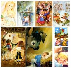 foto postals nadal clàssiques