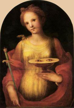 foto santa llúcia Domenico di Pace Beccafumi